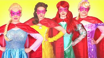 Frozen Elsa & Anna Become Dolls! w/ Spiderman, Pink Spidergirl & Joker! Superhero Fun In Real Life : - YouTube