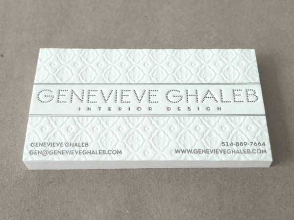 Interior Design Business Cards 4