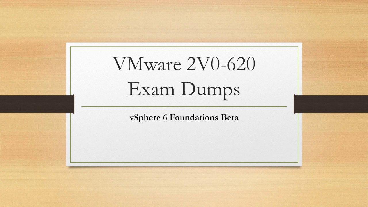 Passed 2V0-620 With VMware 2V0-620 Exam Dumps from CertQueen