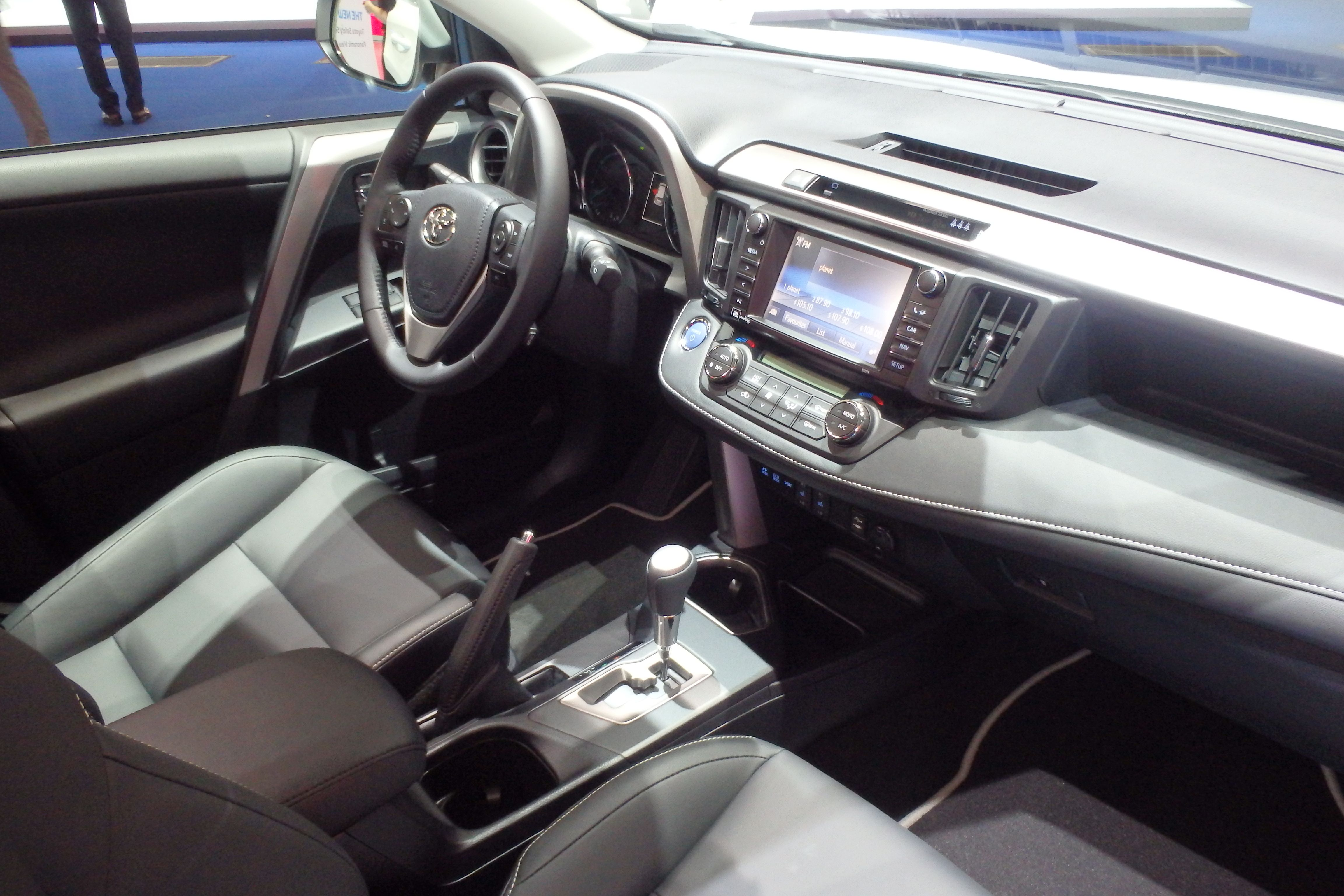 The 2016 Toyota RAV4 Interior Is Shown At The Frankfurt Motor Show, Adding  Toyota Hybrid