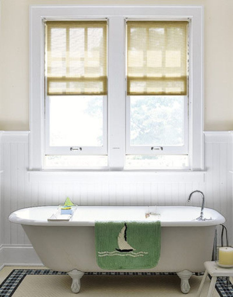 Bathroom windows ideas window treatments design well for Window dressing ideas for bathrooms
