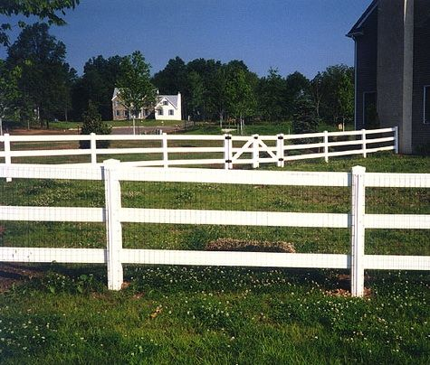 Houses With Vinyl Fences Google Search Stuff I Luv