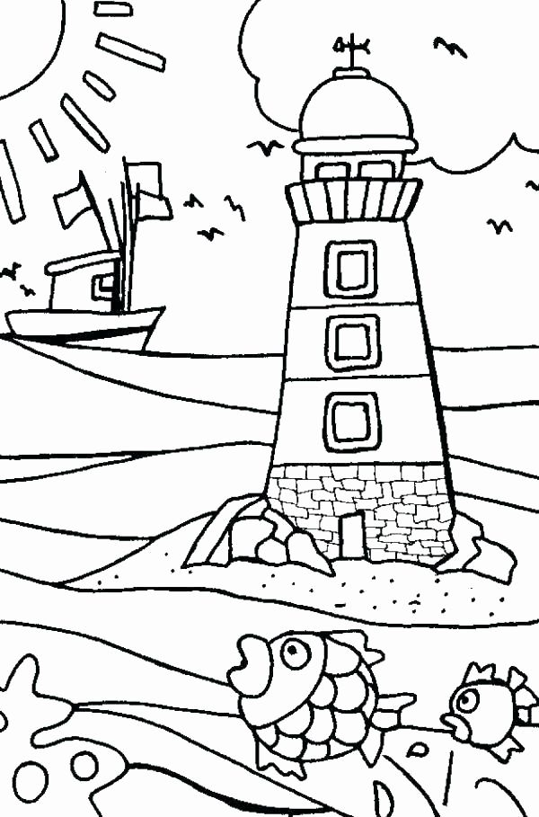 Beach Landscape Coloring Pages Modern Beach Landscape Coloring Pages Summer Coloring Pages Beach Coloring Pages Summer Coloring Sheets