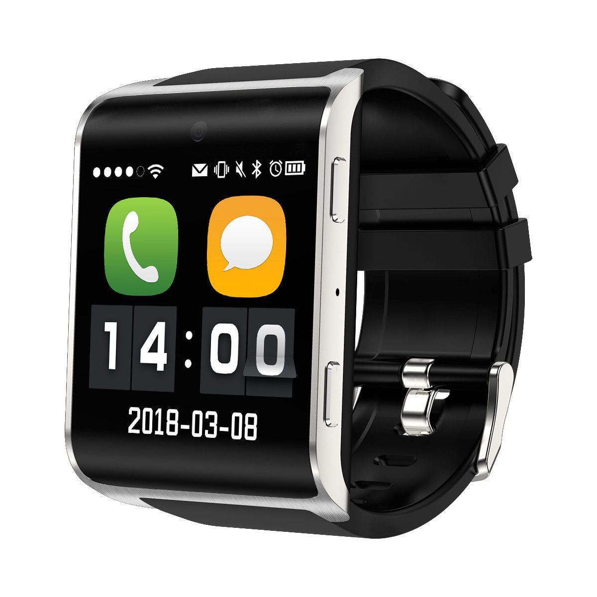 a94387ee84a2 DM2018 4G Smart Watch Phone WIFI GPS Video Call SOS Pedometer Android  Smartwatch (eBay Link)