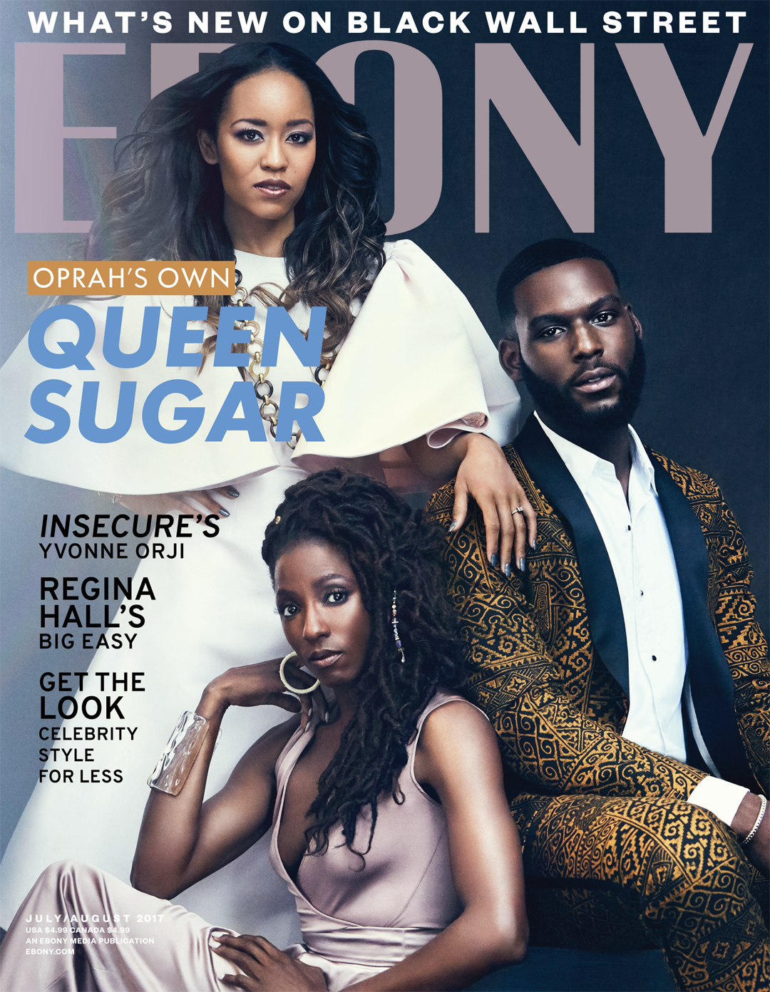 9e17b9aabf06 EBONY Magazine cover featuring Queen Sugar cast