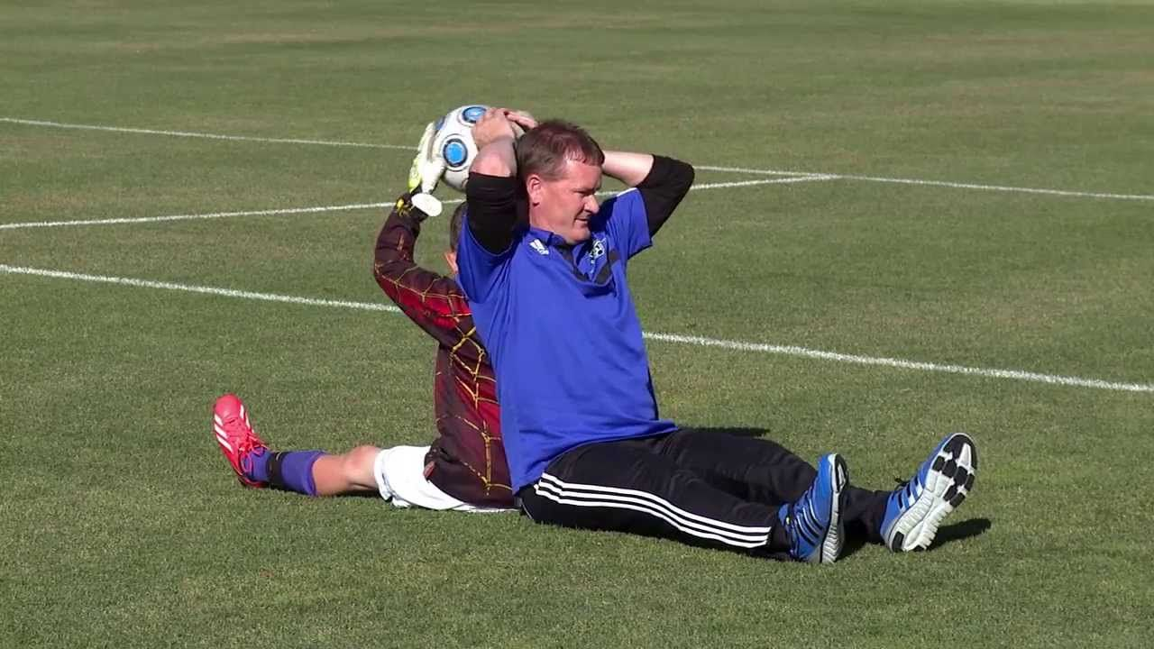 Goalkeeping Drills for the Beginner (04) Soccer drills