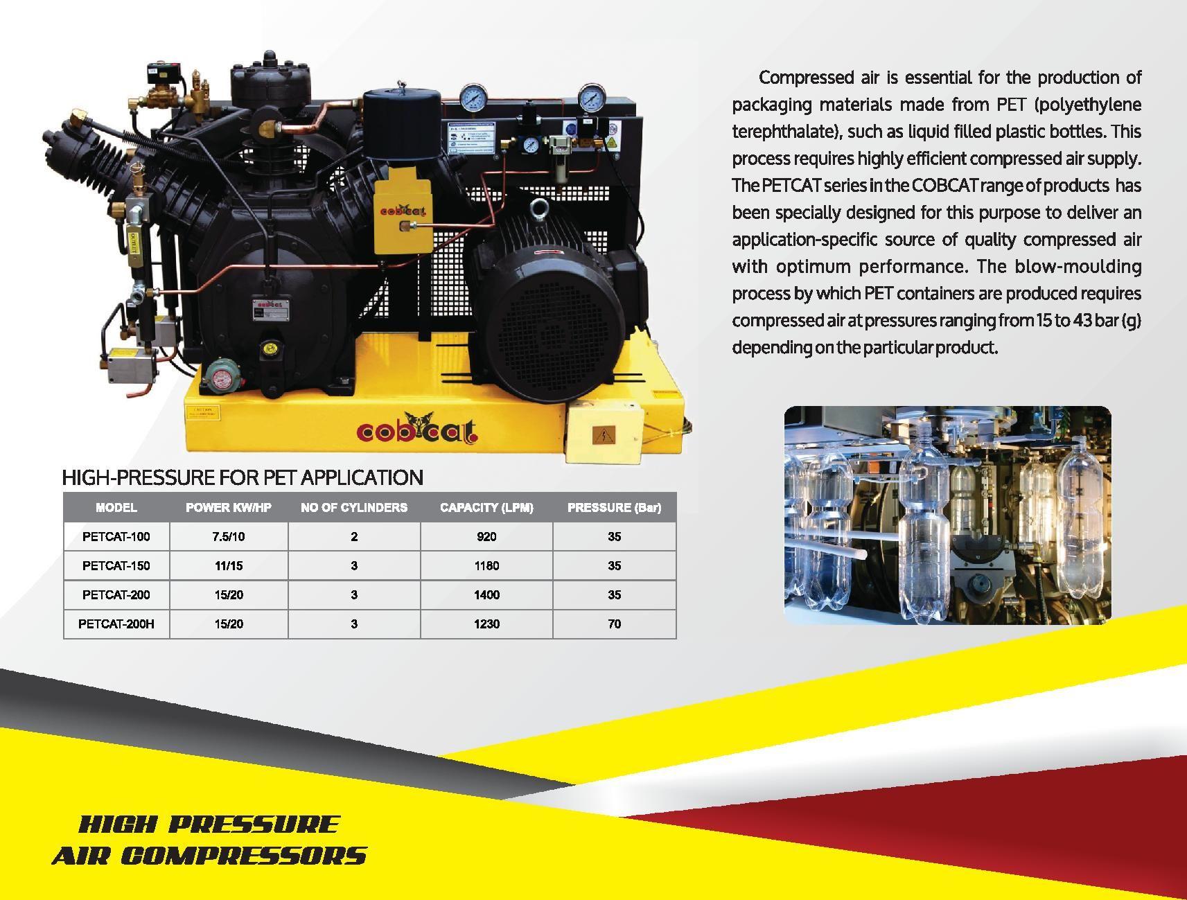 cobcat high pressure air compressors high pressure air compressor high pressure air