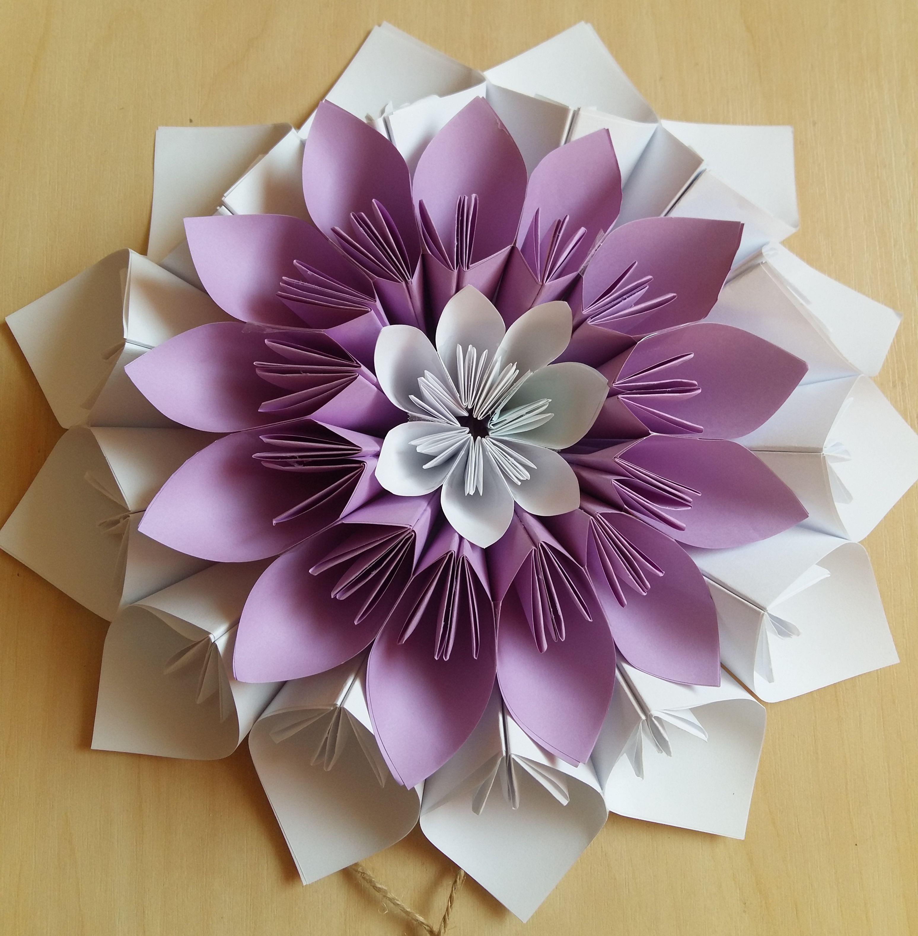 Flower Pinterest Origami