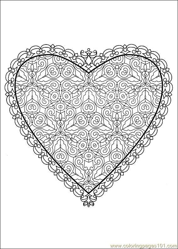mandalacorazon2   Love   Pinterest