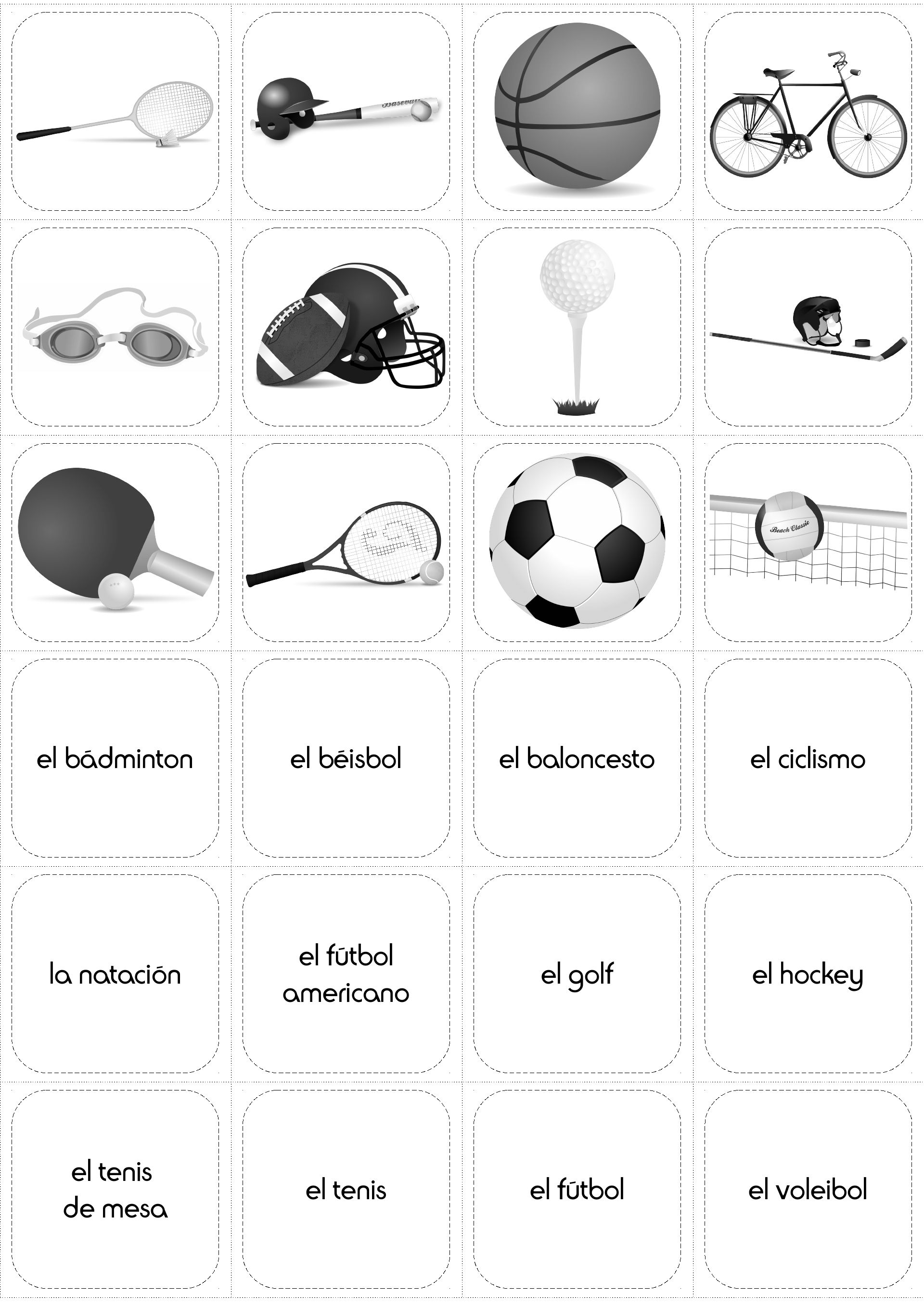 Sports In Spanish Los Deportes Activity Pack Spanish Activities Learning Spanish Learning Spanish For Kids