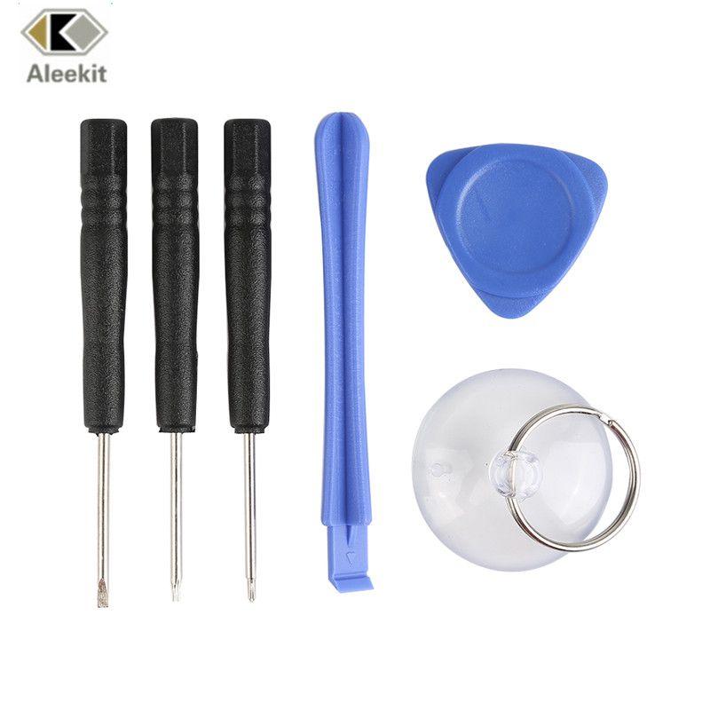 Aleekit 6 In 1 Mobiele Telefoon Reparatie Tools Kit Smart Mobiele Telefoon Schroevendraaier Opening Pry Set Voor Mobiele Te Pry Bars Mobile Phone Repair Repair