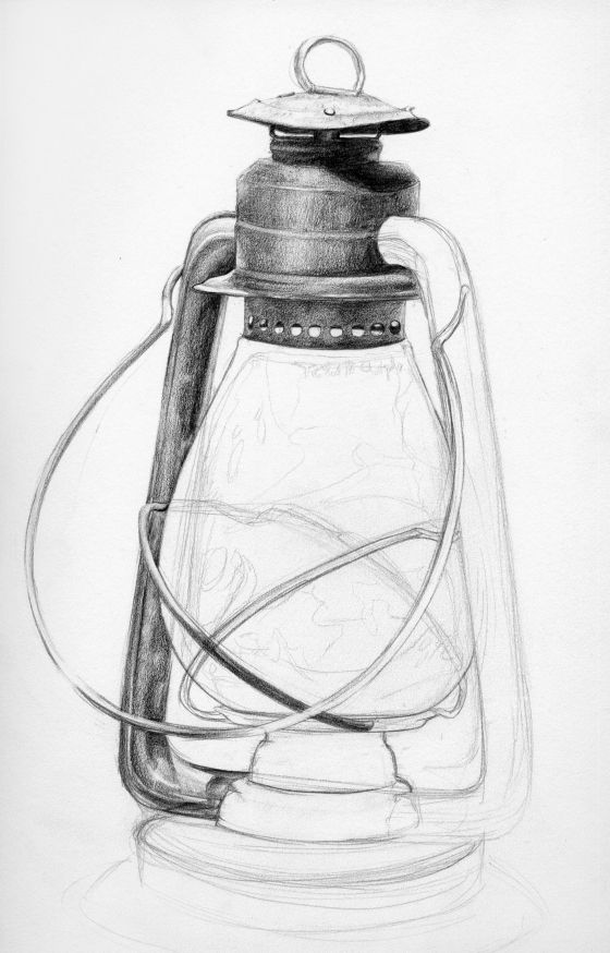 lamp pencil sketch - Vintage lamp pencil sketch Sketch in 2019 Sketches