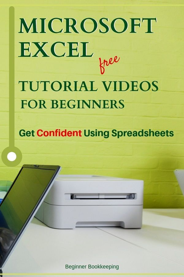 Free Microsoft Excel tutorial videos to give you the edge on using spreadsheets. Learn to manage your Excel workbooks with confidence. Great for beginners or non-beginners who aren't confident.