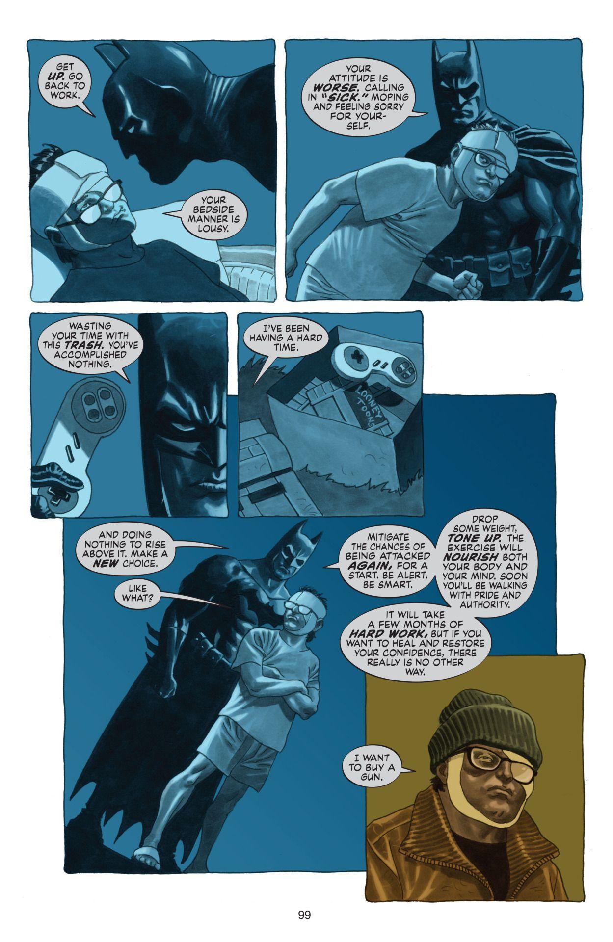 Noite de Trevas: Uma historia real de Batman, ou melhor, a tragédia de Paul Dini | Críticas | Revista Ambrosia