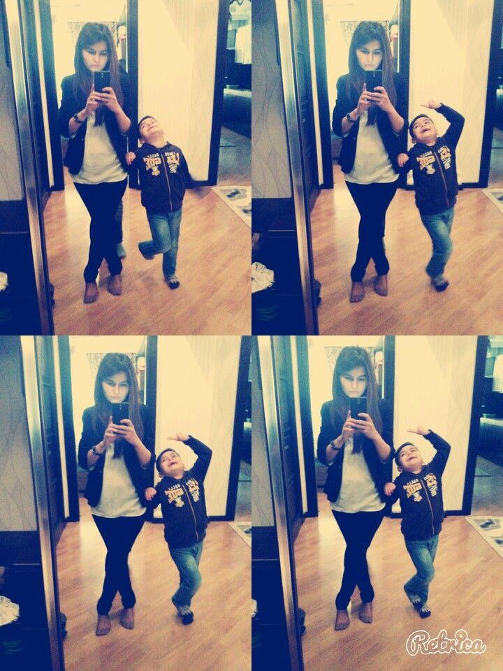 Me and Ayxan
