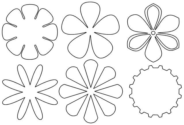 Moldes Y Figuras De Sucha Foami Moldes De Flores Cosas Para