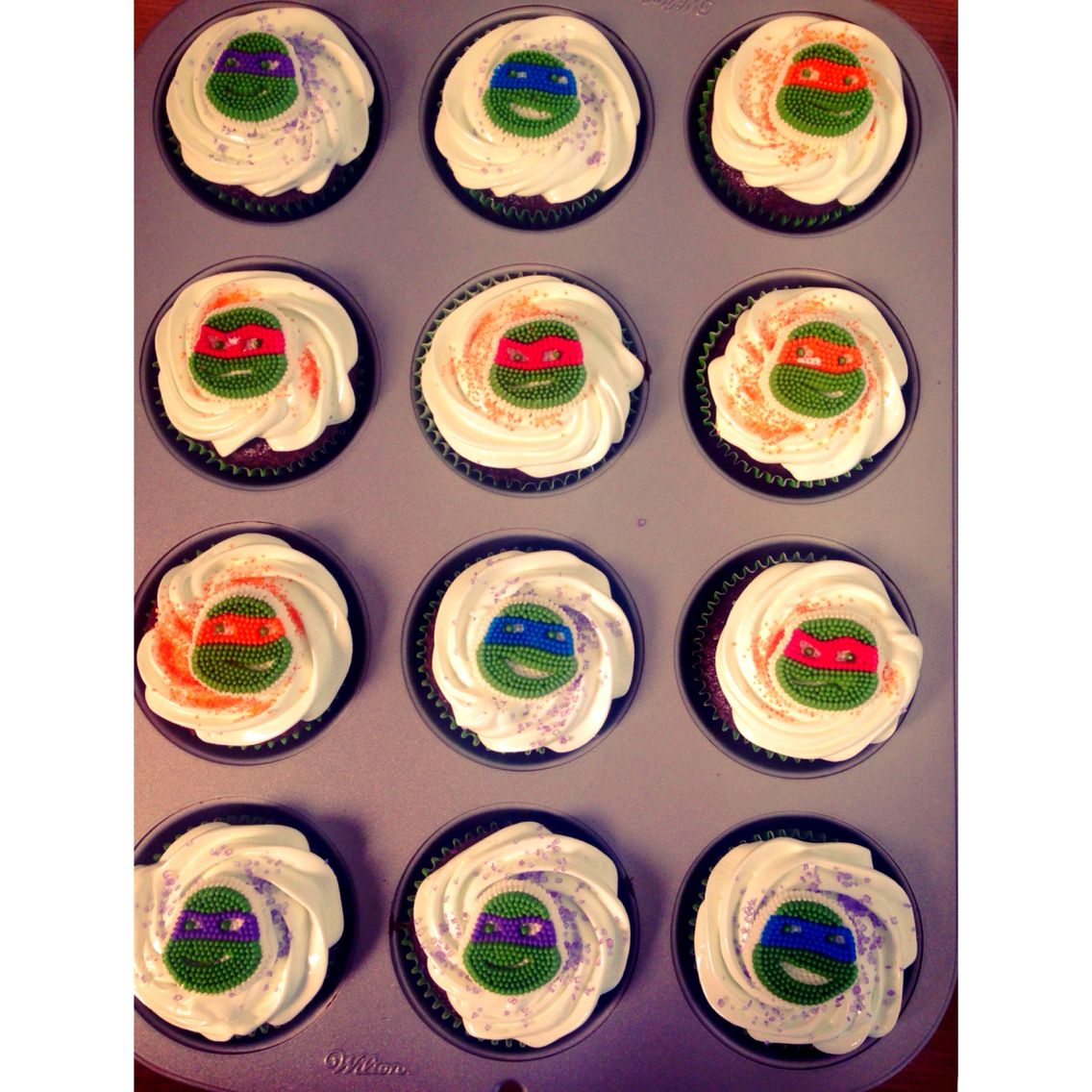 Cupcakes tmnt