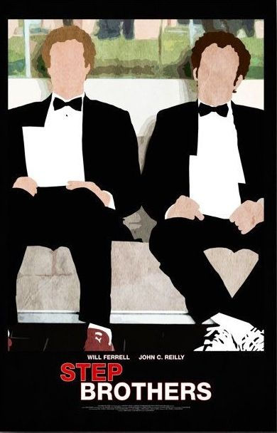 Step Brothers Movie Poster Step Brothers Movie Posters Minimalist Movie Posters