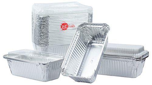Durable Aluminum Foil Pan 1lb For Breadloaf Pan Disposable Baking