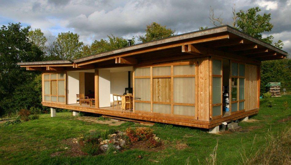 La Petite Maison Bois Contemporaine Dans La Prairie Pres De Lisieux
