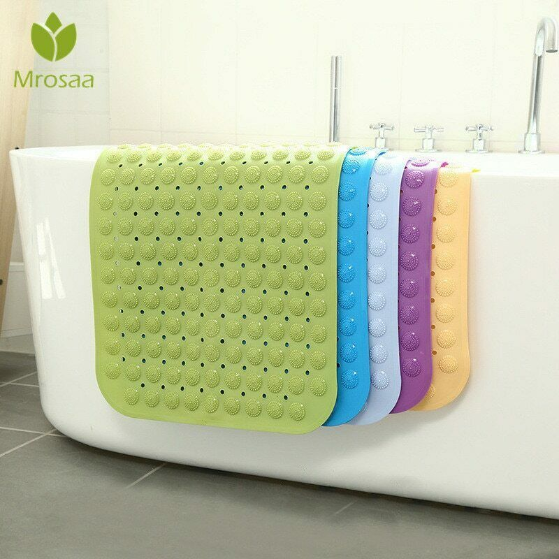 Non Slip Bath Mat Shower Floor Anti Tub Bathtub Suction