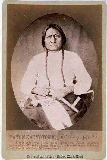Tatonka Iyotonka (aka Sitting Bull) - Hunkpapa - 1882