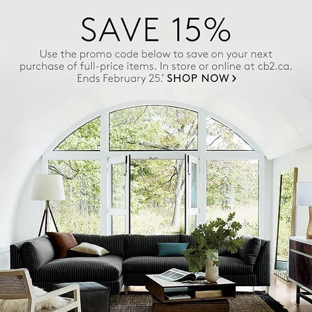 Cb40canada Is Having A 40% Off Promo More Details In Today's Blog Stunning Home Design And Decor Shopping Promo Code