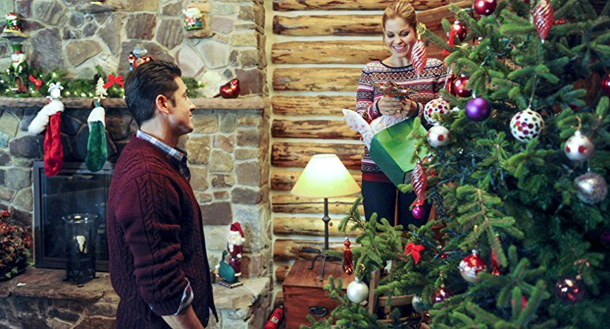 Candace Cameron Bure and David O'Donnell in Christmas
