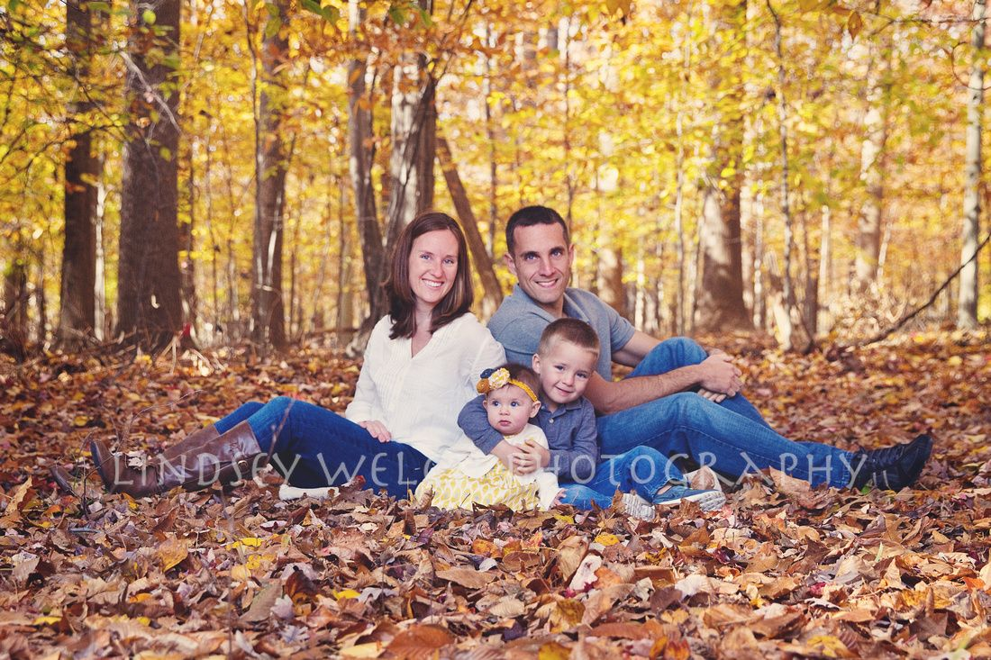 Fall Family Picture Ideas Outdoor Fall Family Photo