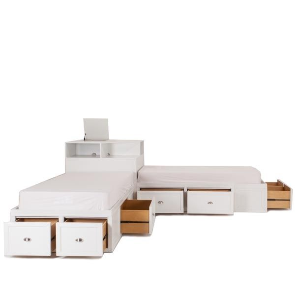 The Spencer Junior Twin Corner Bed Unit Will Solve All Of