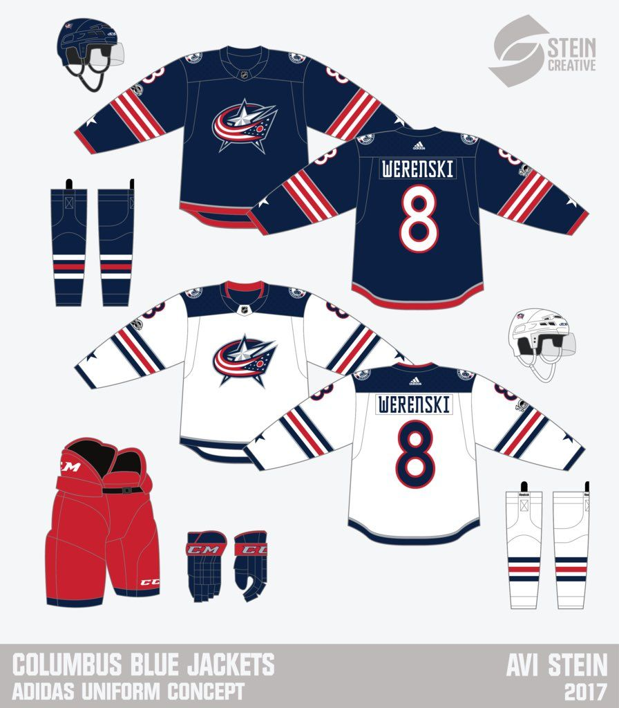 Avi Stein On Twitter Custom Jerseys Columbus Blue Jackets Nhl Jerseys