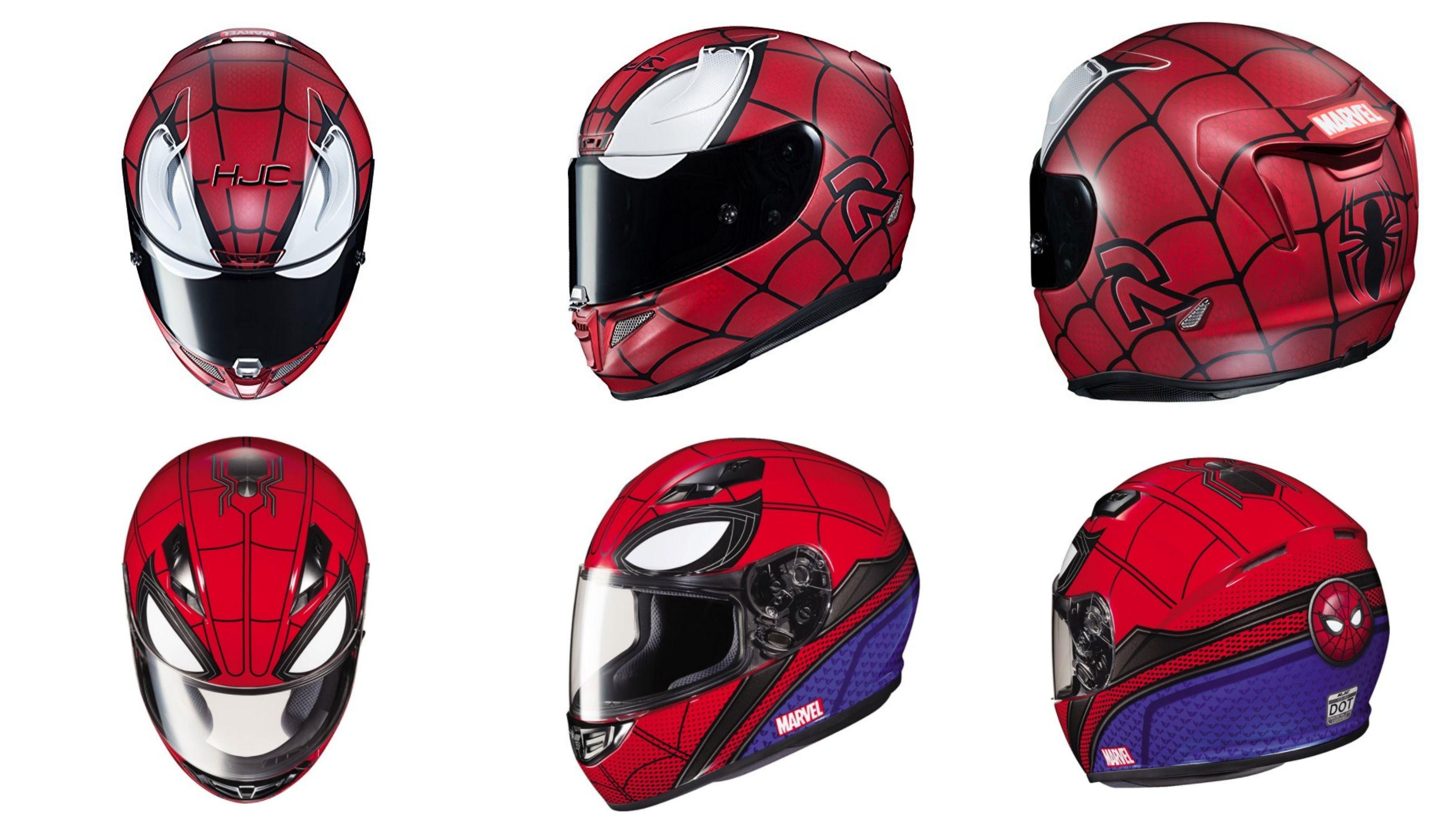 Spiderman Motorcycle Helmets With Images Motorcycle Helmets