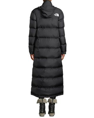 0d4bbc83c Nuptse Long Duster Puffer Coat w/ Packable Hood | Products | North ...