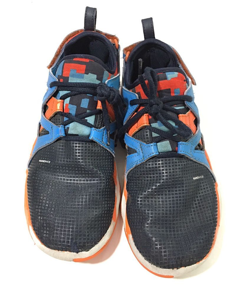 Details about REEBOK Crossfit Nanoweb Men s sz 7 Running Shoes Run Orange  Blue Black c350ad168