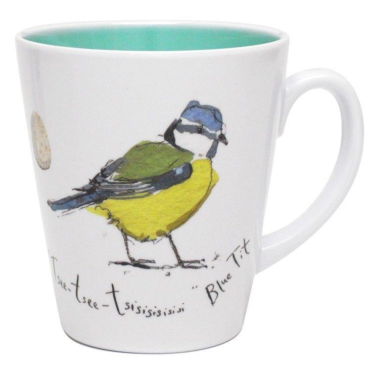 Birdsong Blue Tit Mug