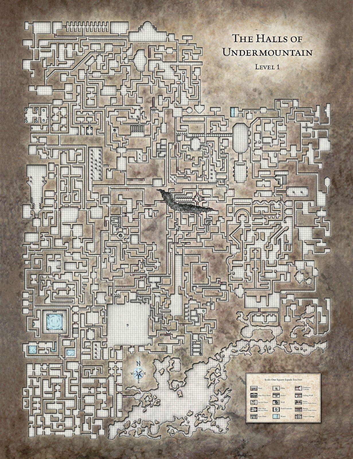 underdark map Recherche Google underdark map