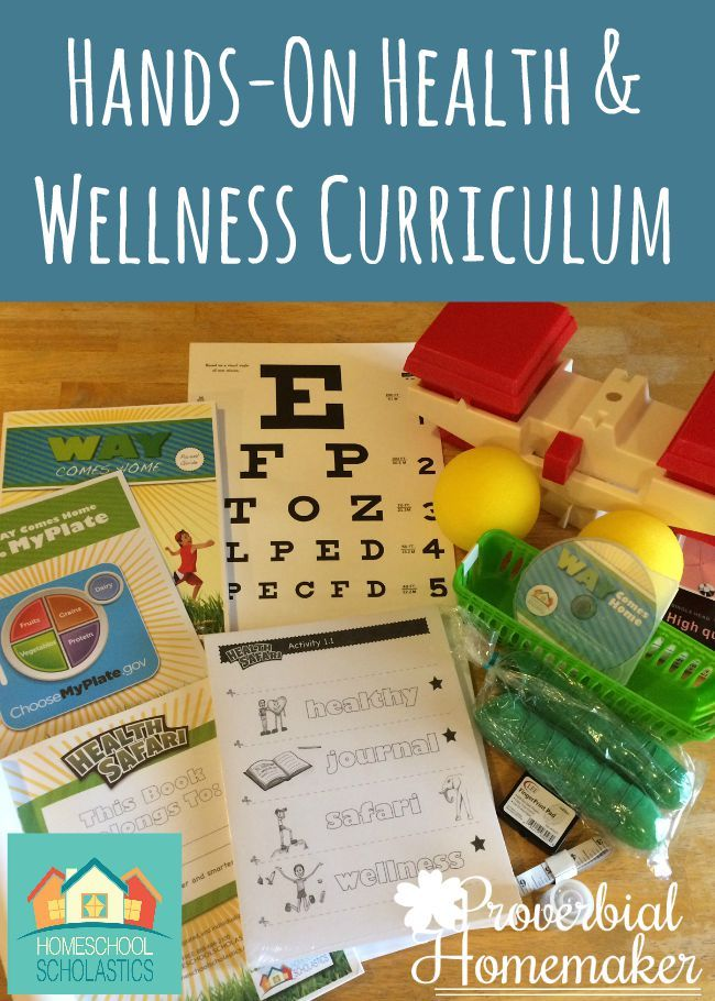 Hands-On K-5 Health and Wellness Curriculum (+ Discount Code!)