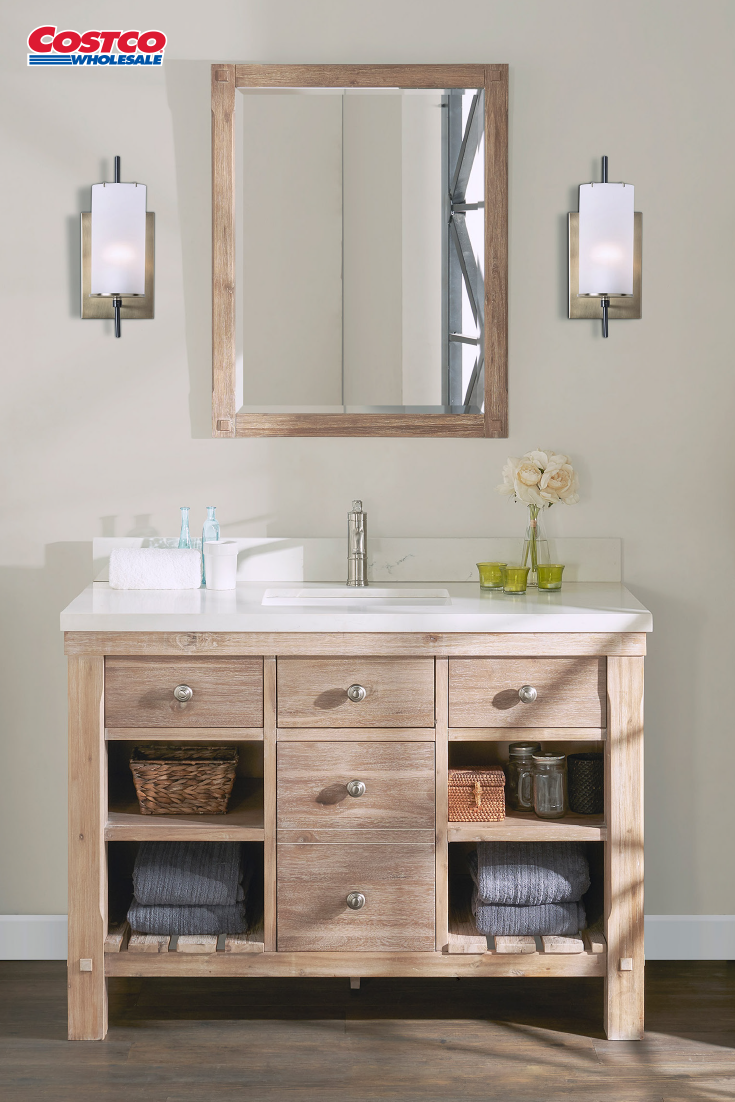 Elbe Rustic 48 Single Sink Vanity By Northridge Home Single Sink Vanity Vanity Sink Bathroom Design