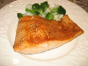 Photo of Everything Tasty from My Kitchen: Oven Roasted Salmon