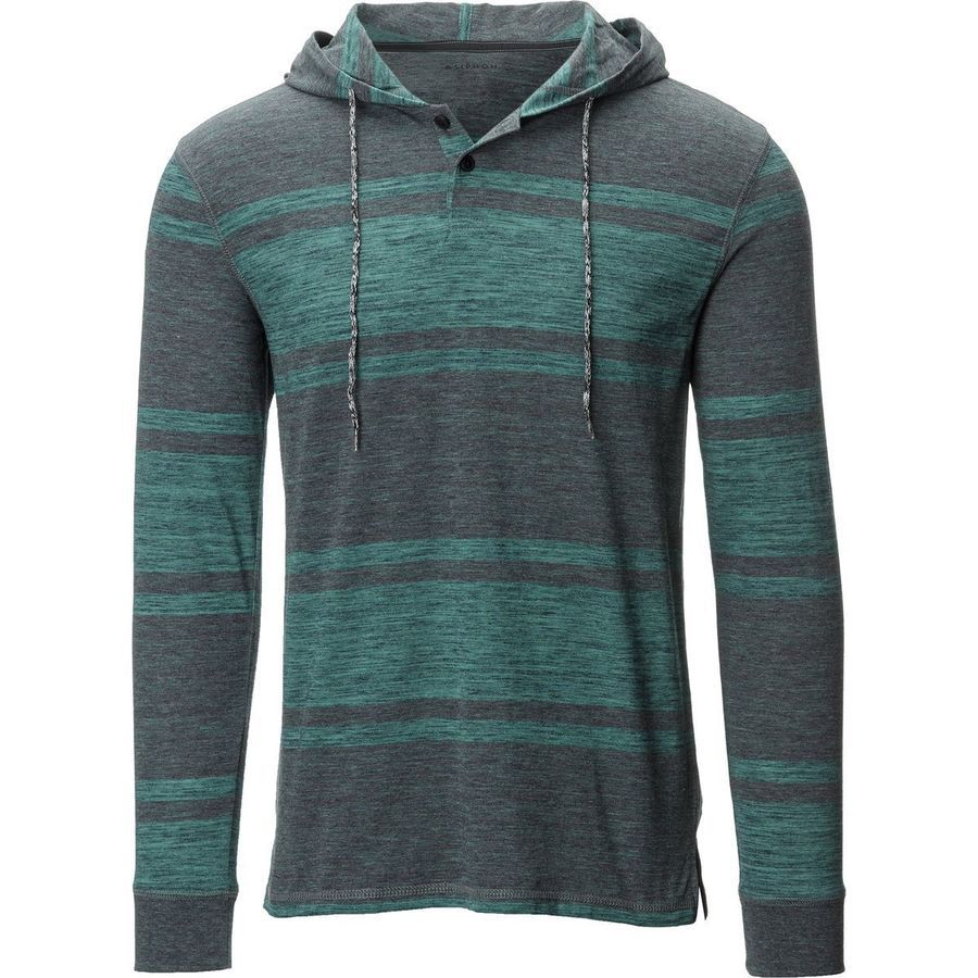 Siphon - Coyote Hooded Henly Shirt - Men's - Everglade Heather (just bought it)