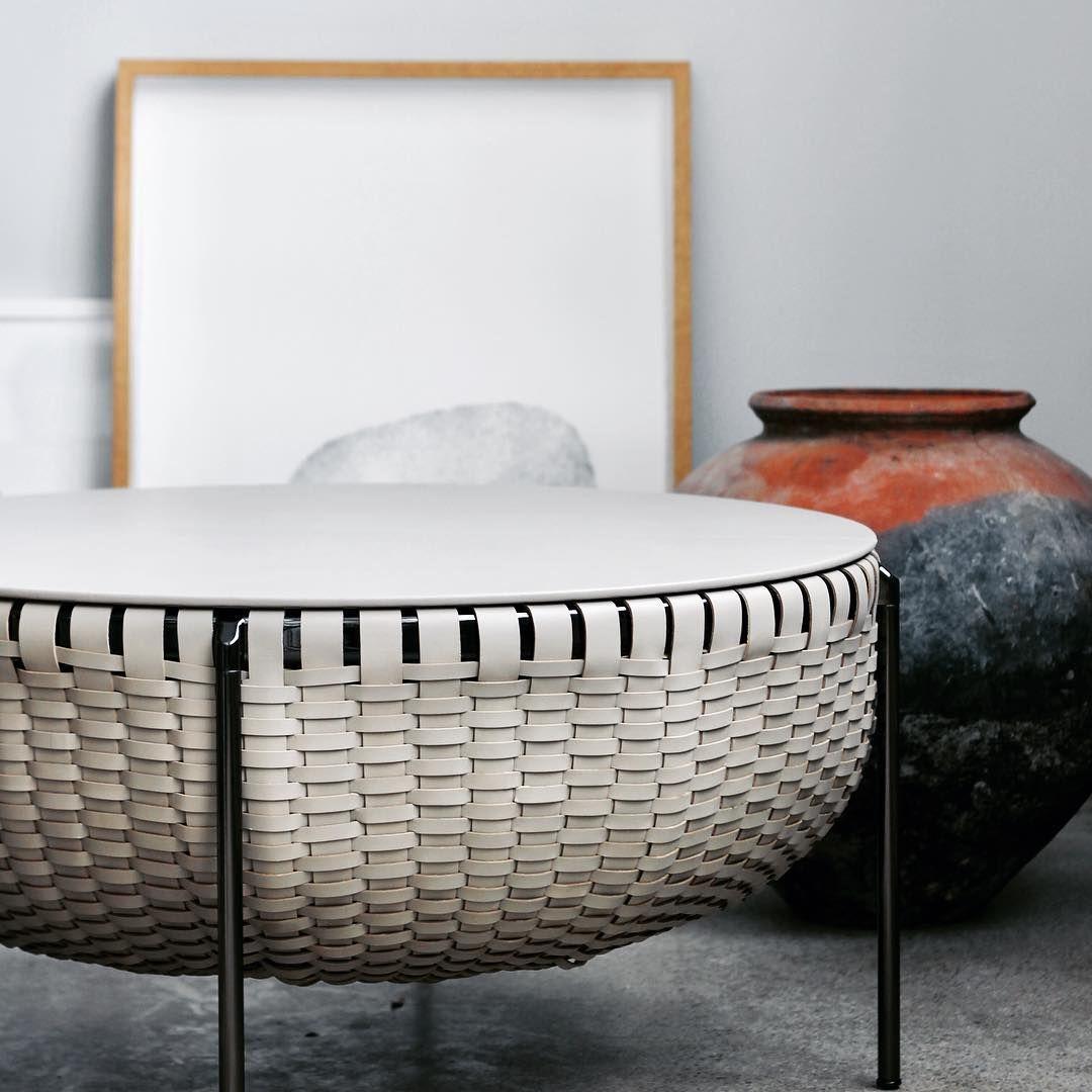 Cestlavie storage basket for Poltrona Frau #poltronafrau #gamfratesi ...