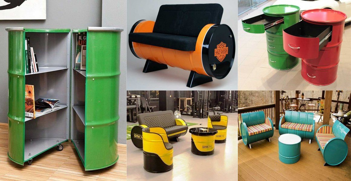 Barrel Metal Drum Project Ideas!!! Engineering