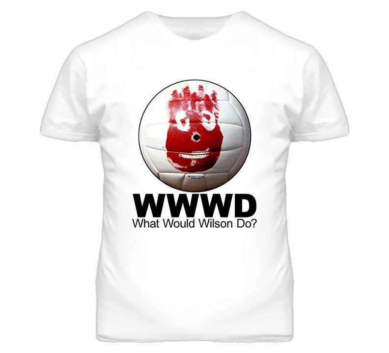 Wilson Castaway Volleyball Funny T Shirt | Volleyball ...