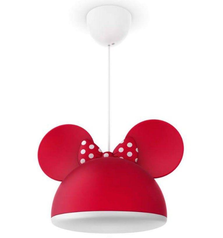L/ámpara de techo con dise/ño de Mickey y Minnie Mouse