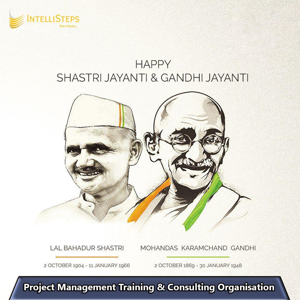 IntelliSteps team wishing you all a very happy Gandhi