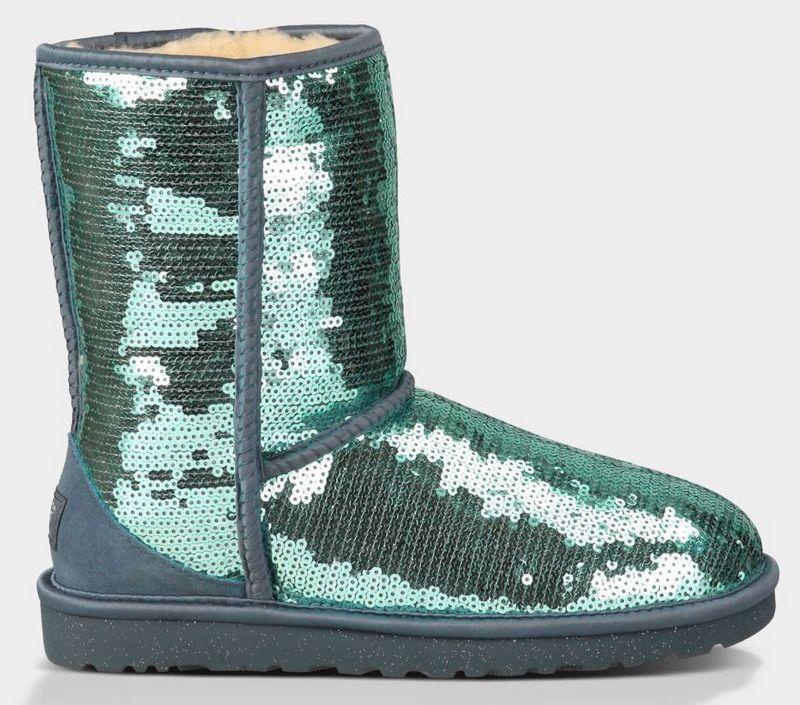 ugg women classic short sparkles 3161 boots grass green cheap ugg rh in pinterest com