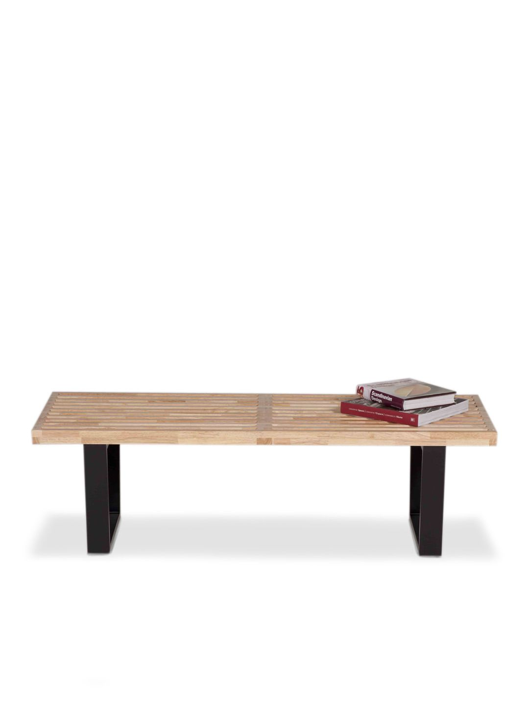 Slatted Bench Natural (4 ft) by Pangea Home at Gilt | New home ...