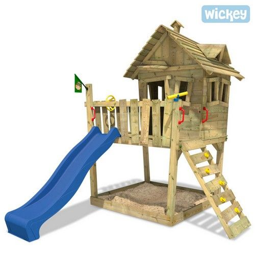Wickey Funny Farm Baumhaus Ohne Schaukel Wickey De Spielturm Spielturm Garten Wickey Spielturm