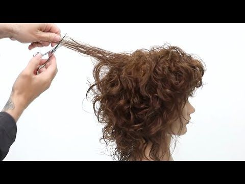 How To Cut a Curly Shag