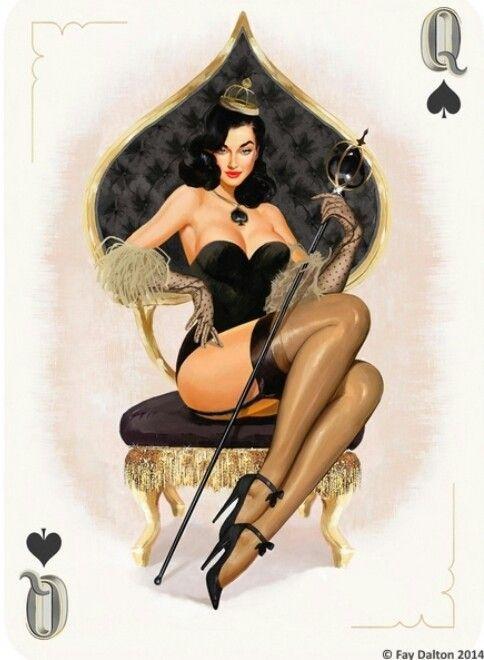 Erotic goth cards